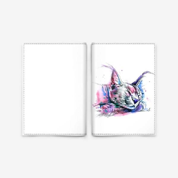 Обложка для паспорта «каракал»