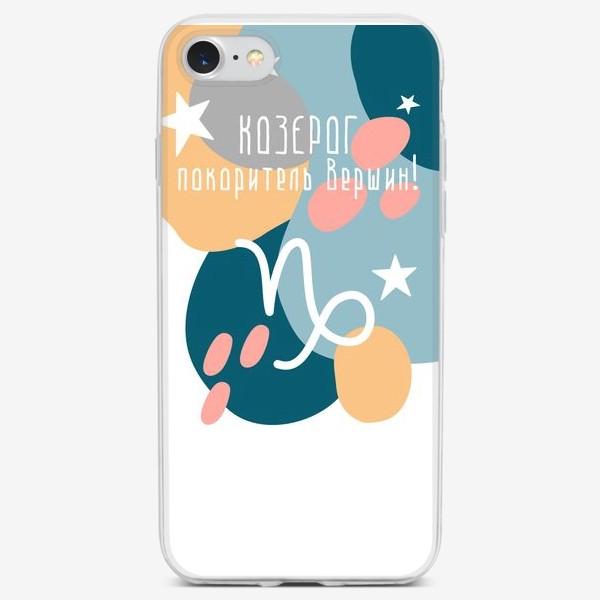 Чехол iPhone «Козерог»