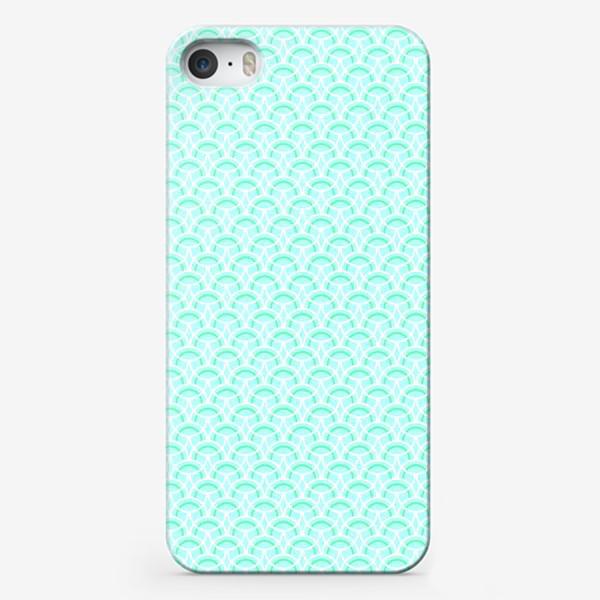 Чехол iPhone «Нежный геометрический патерн»