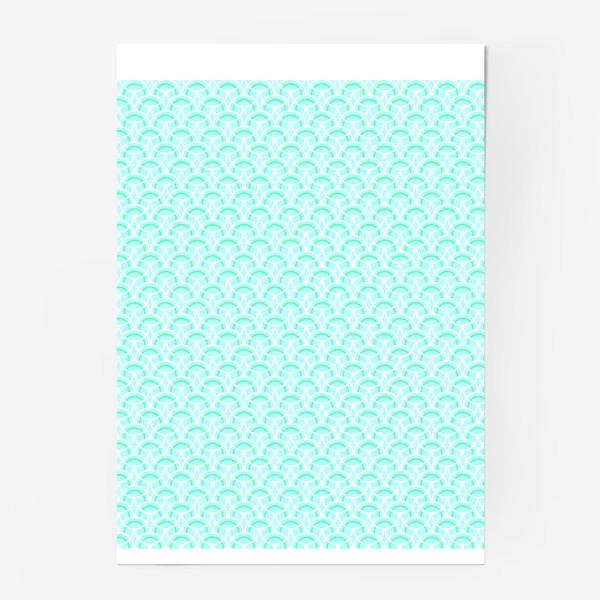 Постер «Нежный геометрический патерн»