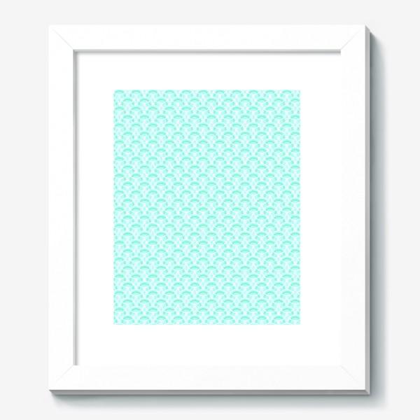 Картина «Нежный геометрический патерн»