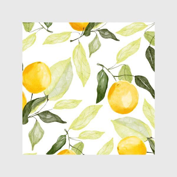 Шторы «Сочный лимон»
