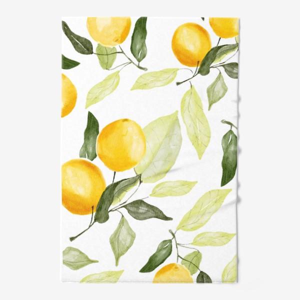 Полотенце «Сочный лимон»