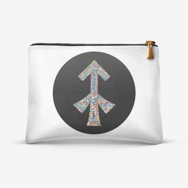 Косметичка «Стрелец знак зодиака»