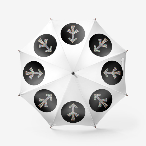 Зонт «Стрелец знак зодиака»