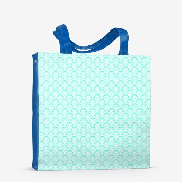 Сумка-шоппер «Нежный геометрический патерн»