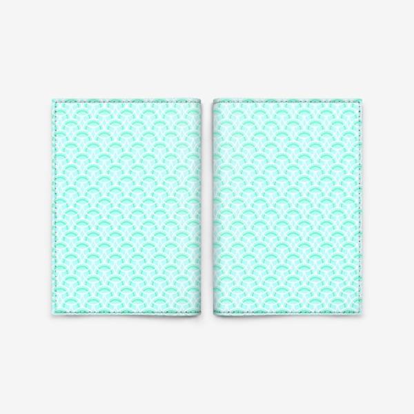 Обложка для паспорта «Нежный геометрический патерн»