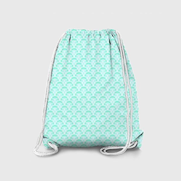 Рюкзак «Нежный геометрический патерн»