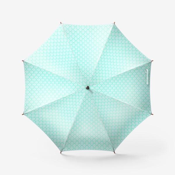 Зонт «Нежный геометрический патерн»