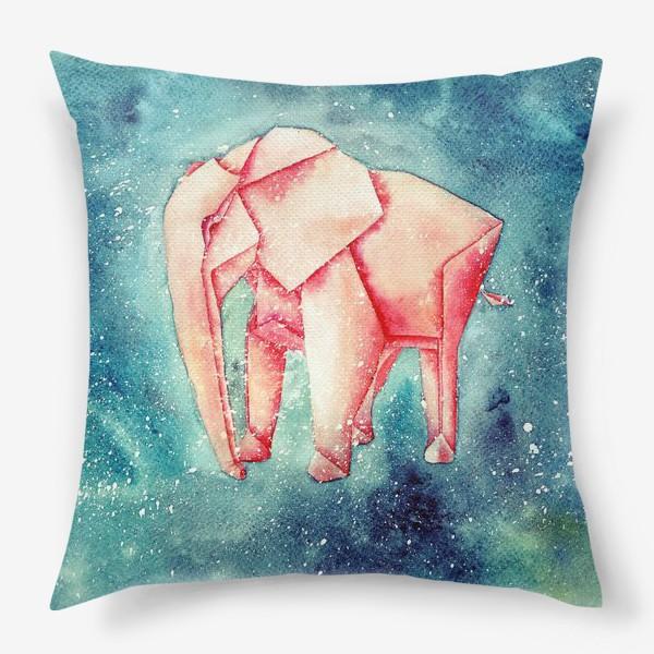 Подушка «Космический слон»