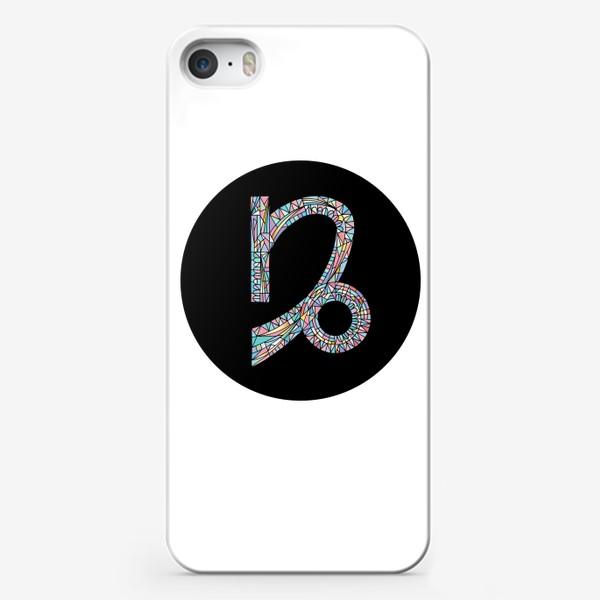 Чехол iPhone «Козерог знак зодиака»