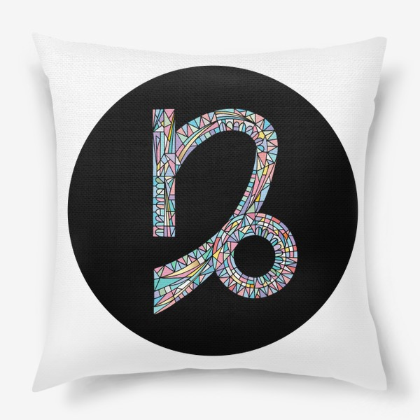 Подушка «Козерог знак зодиака»