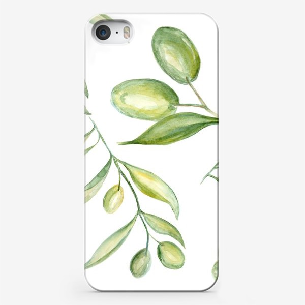 Чехол iPhone «Оливки»