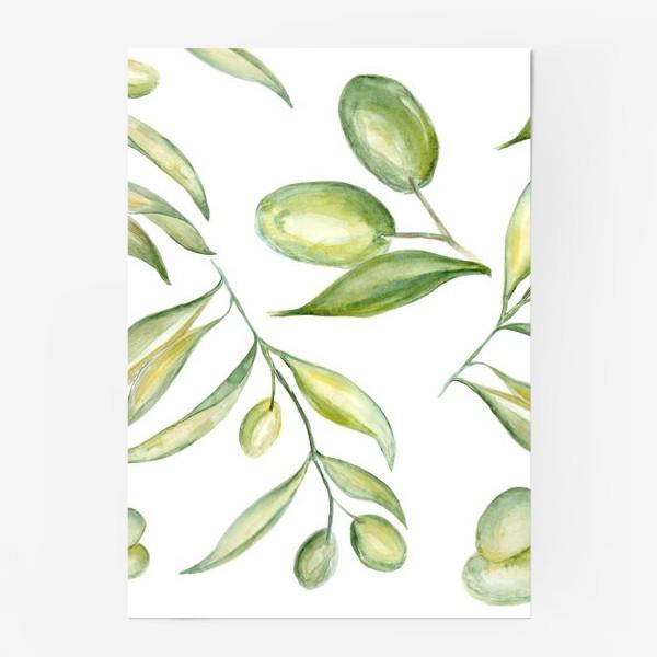 Постер «Оливки»