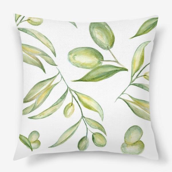 Подушка «Оливки»