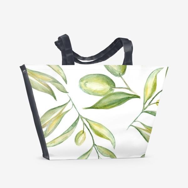 Пляжная сумка «Оливки»