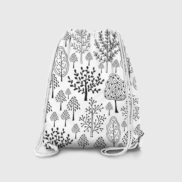 Рюкзак «Деревья сказочного леса»
