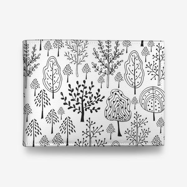 Кошелек «Деревья сказочного леса»