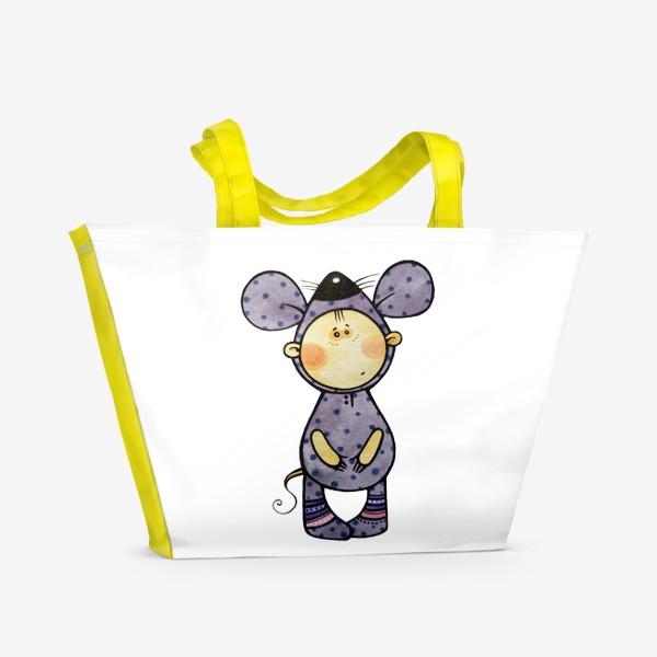 Пляжная сумка «Я МЫШКА»