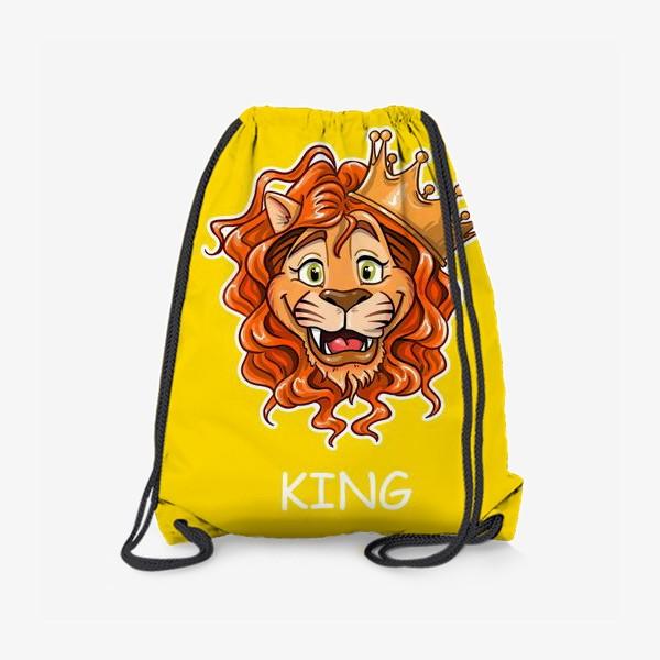 Рюкзак «король лев, подойдет как для рыжих, так и родившихся под знаком зодиака Лев»