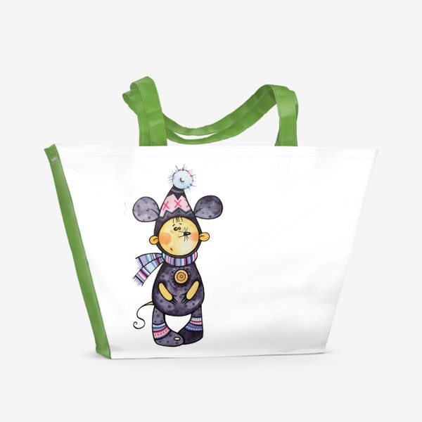Пляжная сумка «Мышиное настроение»