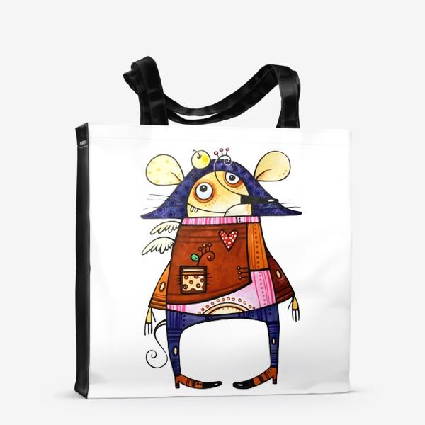 Сумка-шоппер «Мышь французская»
