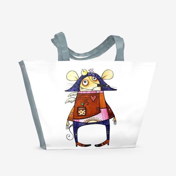 Пляжная сумка «Мышь французская»