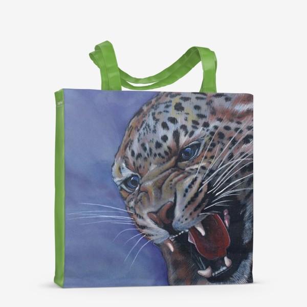 Сумка-шоппер «Леопард »