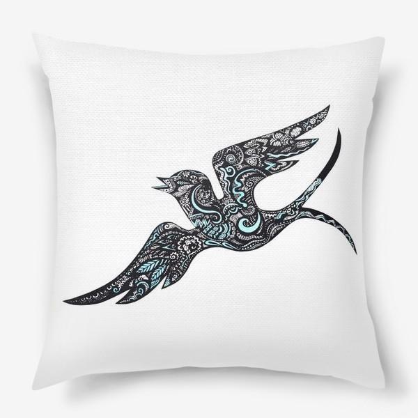 Подушка «Flying bird»