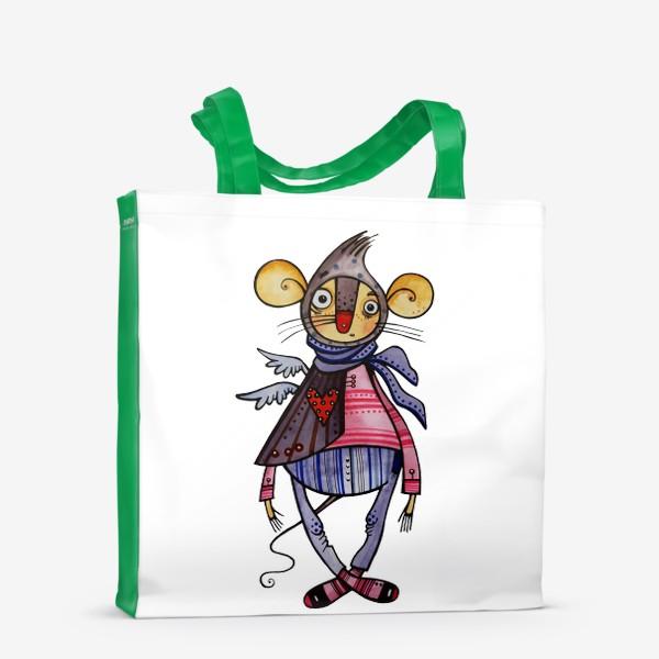 Сумка-шоппер «Мышиный шик»