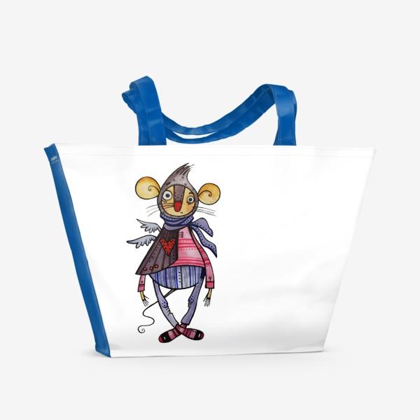 Пляжная сумка «Мышиный шик»