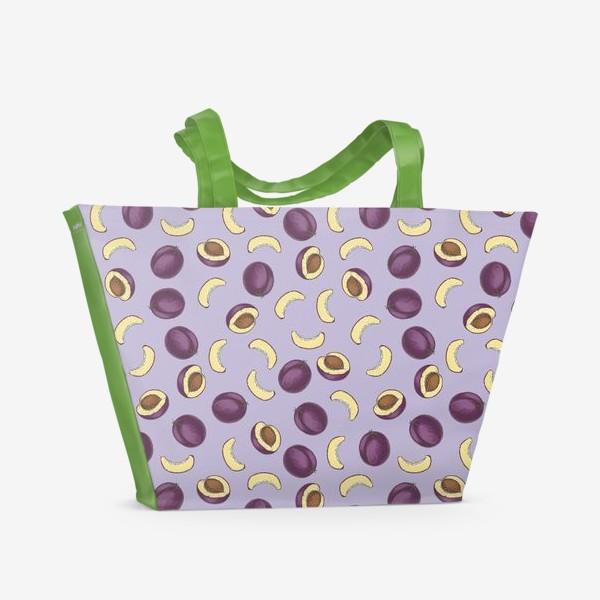 Пляжная сумка «Слива»