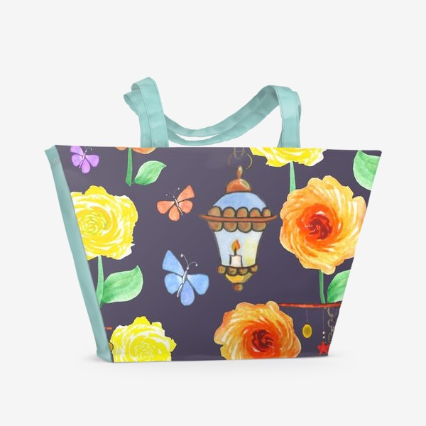 Пляжная сумка «Летний вечер. Арт 1»