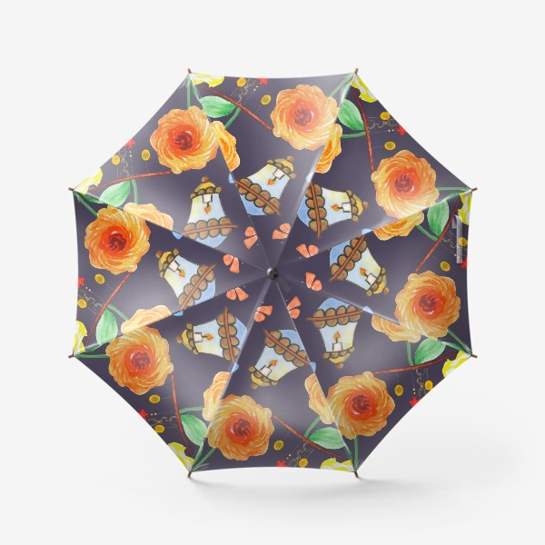 Зонт «Летний вечер. Арт 1»