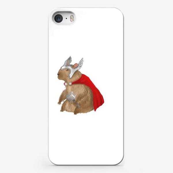 Чехол iPhone «Капибара Тор»