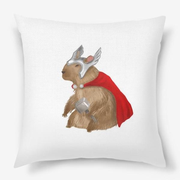 Подушка «Капибара Тор»