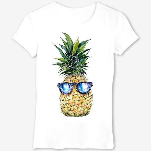 Футболка «Летний ананас»