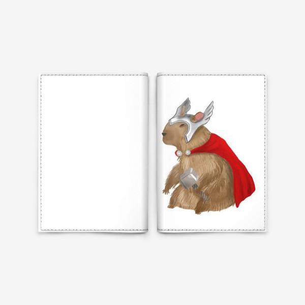 Обложка для паспорта «Капибара Тор»