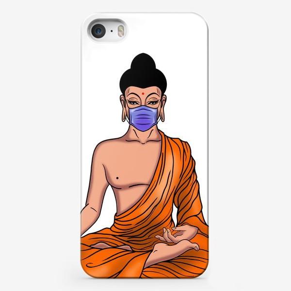 Чехол iPhone «Буддийский монах на самоизоляции»