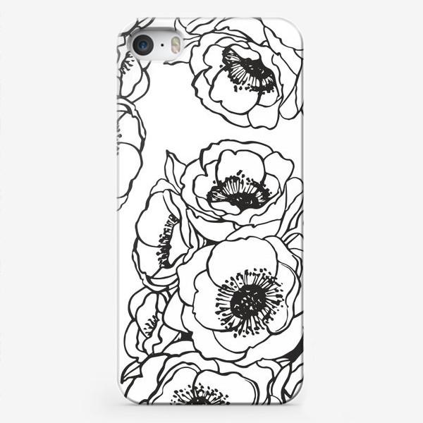 Чехол iPhone «анемоны»