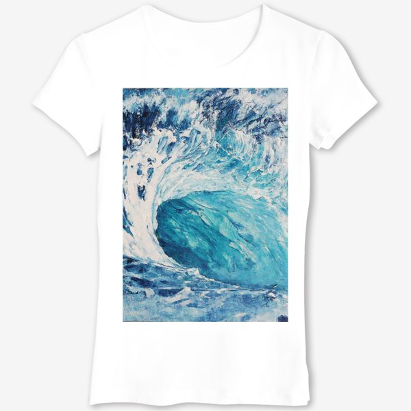 Футболка «Морская волна. Море. Океан»