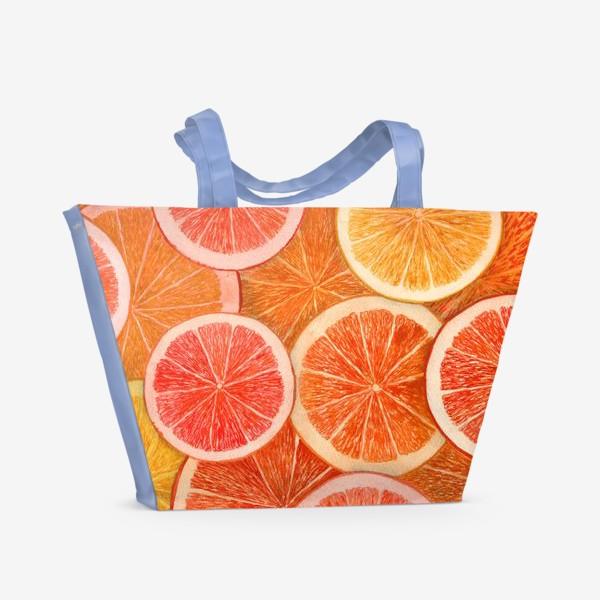 Пляжная сумка «Апельсины»