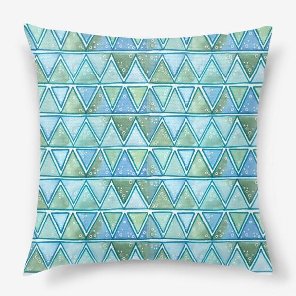 Подушка «морские узоры»