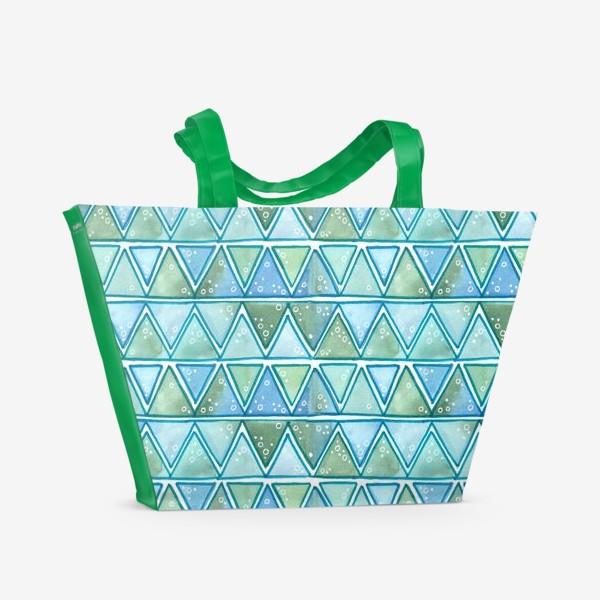 Пляжная сумка «морские узоры»