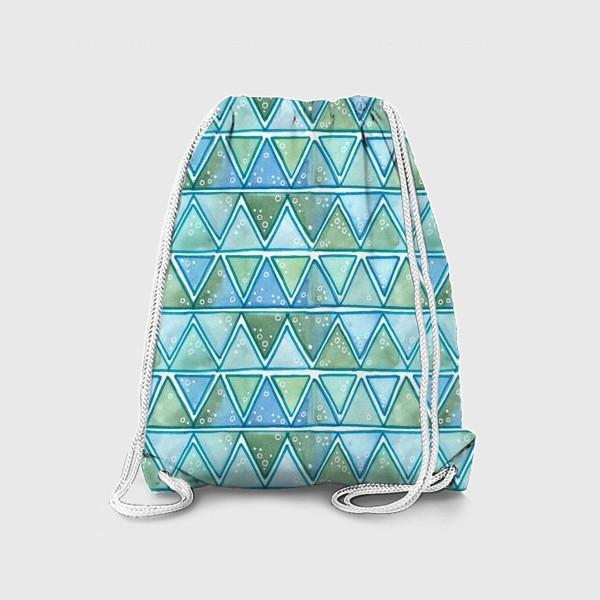 Рюкзак «морские узоры»