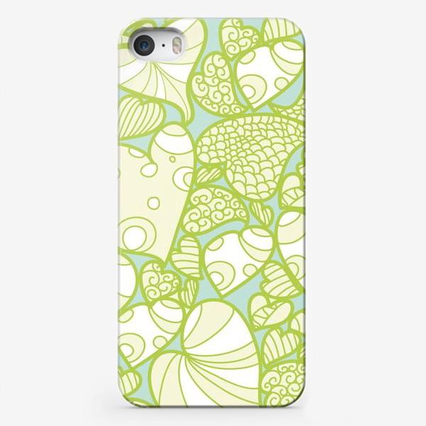 Чехол iPhone «Листья»