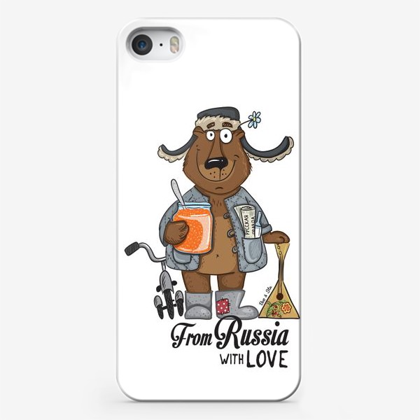 Чехол iPhone «From Russia with Love»
