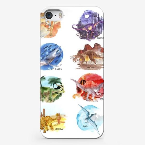 Чехол iPhone «Dino-colour»