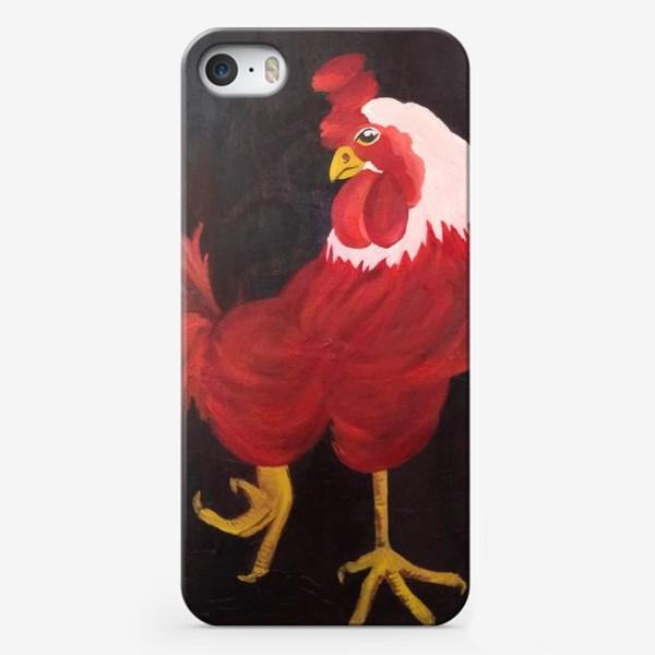 Чехол iPhone «огненный»