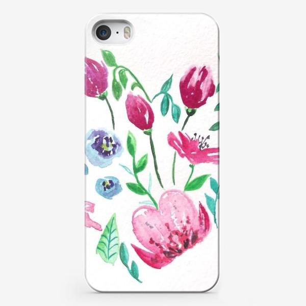 Чехол iPhone «Цветущее сердце»